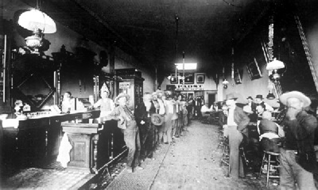 Cowboys at Old West Saloons (11)