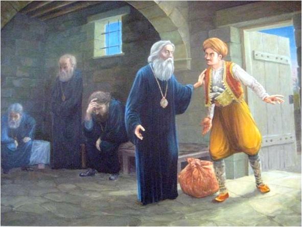 Kyprianos in prison-1821-leveled