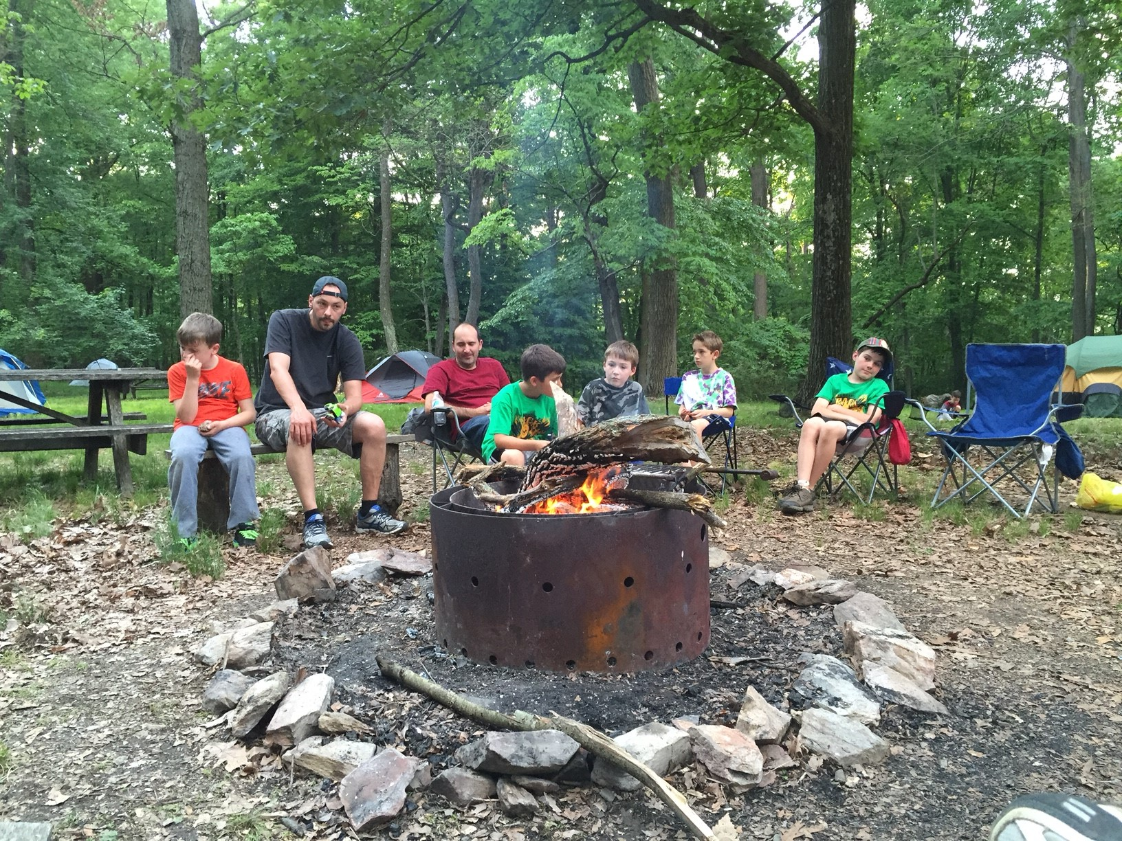 Camping Cub Scout Pack 196