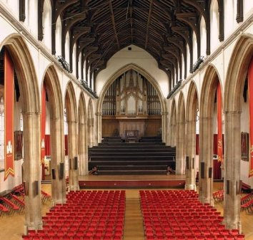 The only medieval friary to survive the Reformation intact - St Stephens and Blackfriars Halls are now used for all sorts of jollities including the annual beer fest piss-up