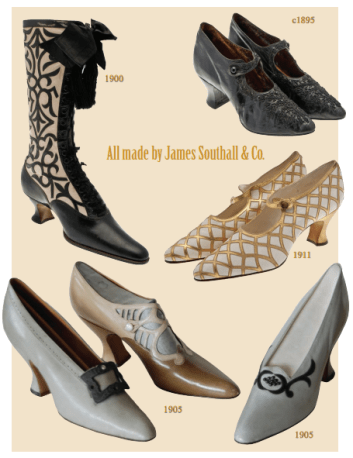 The first mass production of shoes in Britain - because life's a catwalk