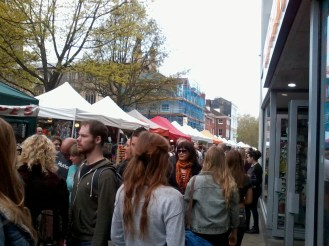 Market Stalls on Haymarket