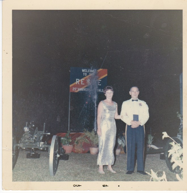 Regimental Dance, Terendak Camp, Malaysia