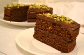 Chocolate and Courgette Cake