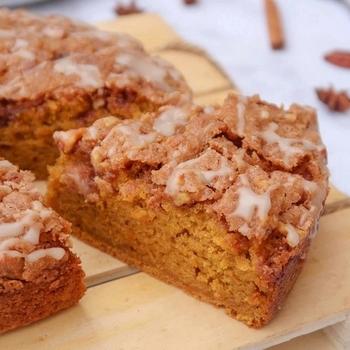 Gâteau à la courge butternut {vegan}