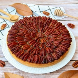 tarte aux noix de pécan vegan