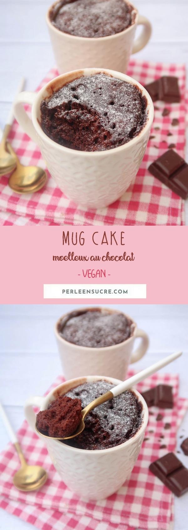 mug cake chocolat pînterest