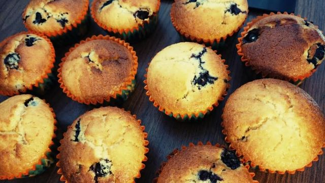 Back-Therapie = Blueberry Muffins