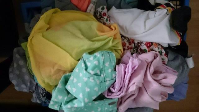 Nachdem die Perle im Bett war wartete noch ein Wäscheberg auf mich. Und ein Schlemmerfilet.