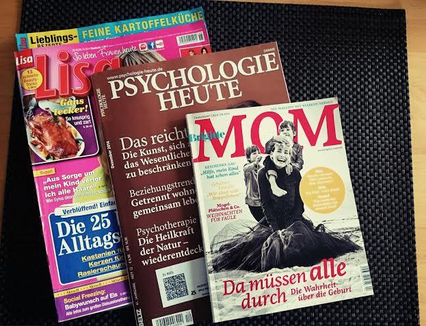 ...während Mama ein wenig gelesen hat.