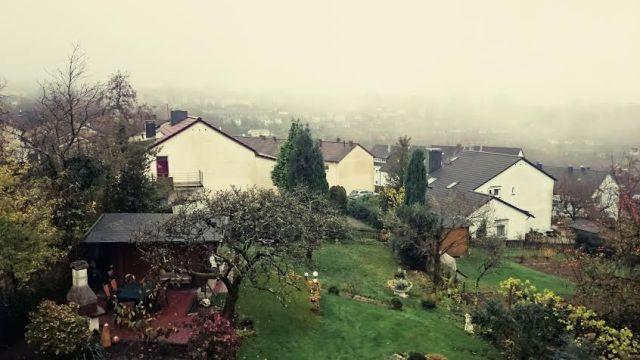 Draußen war echt richtig ekeliges Novemberwetter.