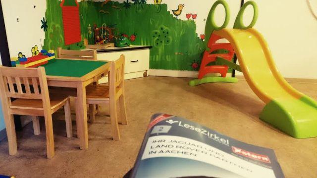 Dann habe ich beim Arzt im Wartezimmer etwas gelesen...