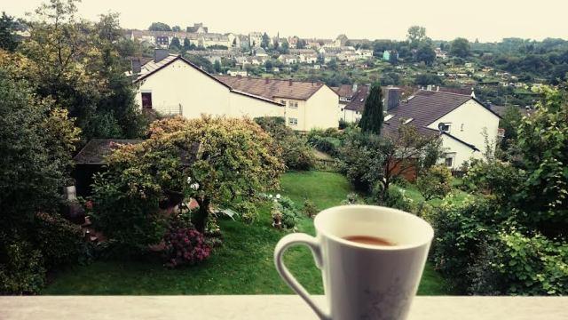 Kaffee mit Ausblick