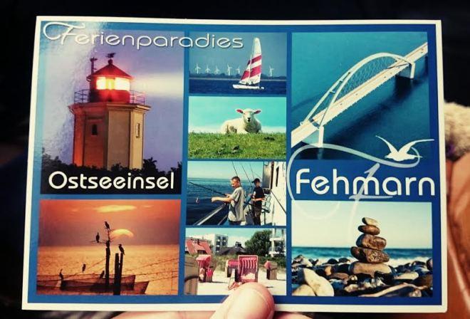 Wir haben Post bekommen von meiner Lieblings-Ostseeinsel. Da macht der Perlenpatenonkel mit seiner Familie nämlich gerade Urlaub.