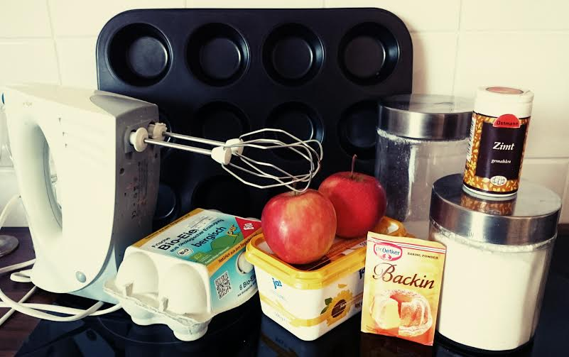 Apfelmuffins Zutaten