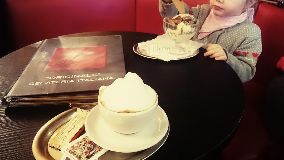 eis und kaffee