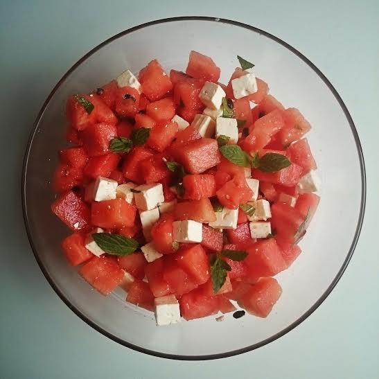 melonen salat