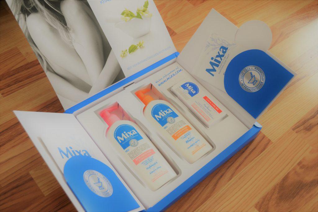 Mixa, Perlenmama, trockene Haut, Testpaket, Hautpflege