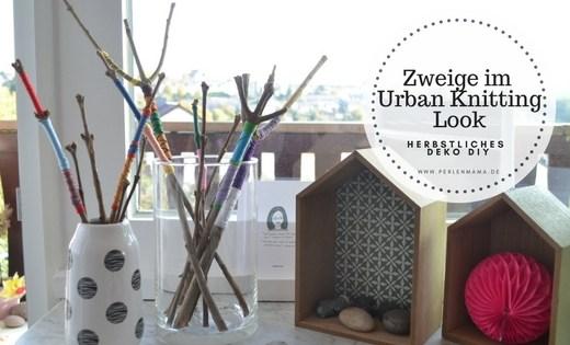 Deko, DIY, Herbst, Urban Knitting, Perlenmama, Basteln