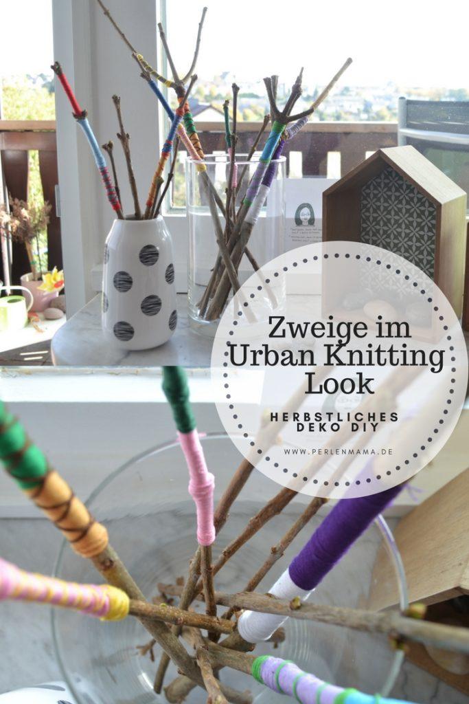Herbst, Deko, DIY, Urban Knitting, Perlenmama