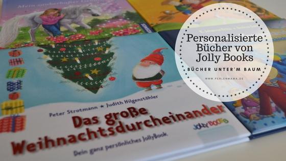 Jolly Books, Personalisierte Bücher, Bücher unter'm Baum, Perlenmama