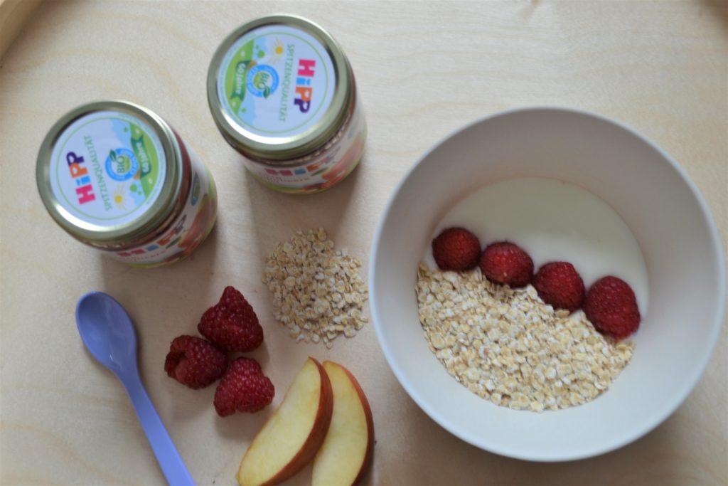 HiPP Früchtegläschen, Perlenmama, Werbung, Geschmackstest