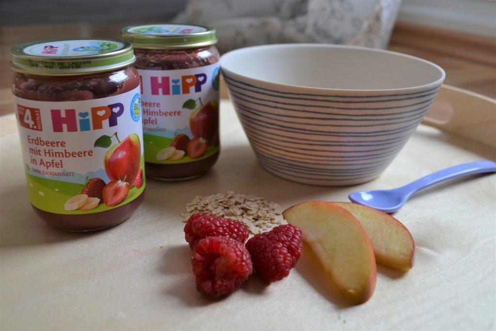 HiPP Früchtegläschen, Perlenmama, Werbung