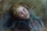 Bourdelle - Femme endormie
