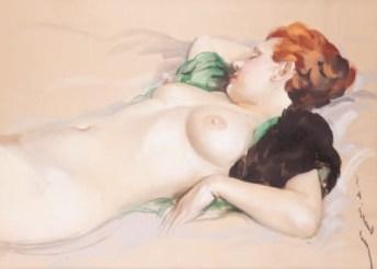Lucien Grandgérard (1880-1970) - Endormie