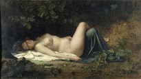 Armand Cambon - Nymphe endormie
