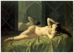 Mariano Fortuny - 1862 Odalisque
