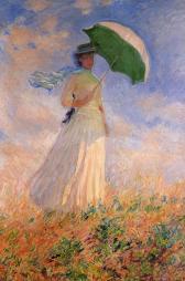 Monet - femme à l'ombrelle (Orsay)