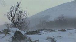 Wiatr i śnieżyca w górach…