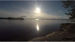 Niskie Słońce nad jeziorem Saimaa…