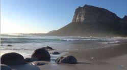 Piękna plaża południowoafrykańska