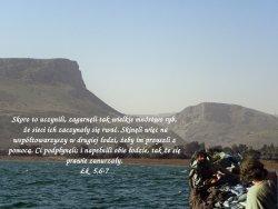 Gdy tłum cisnął się do Jezusa, aby słuchać słowa Bożego, a On stał nad jeziorem Genezaret…