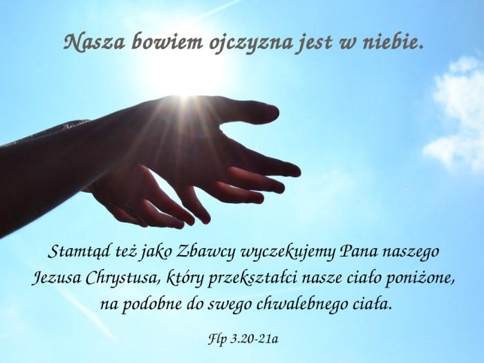 W końcu, bracia moi, radujcie się w Panu!