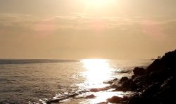 Skąpane w słońcu fale…