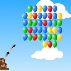 Łuk i baloniki