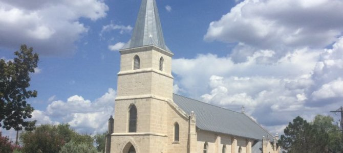 Historia Kościoła pod wyzwaniem św. Stanisława w Bandera, Texas