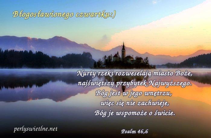 Nurty rzeki rozweselają miasto Boże…