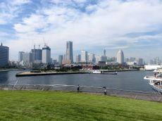 Jokohama-panorama z nabrzeża