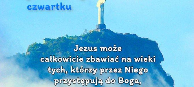 Jezus może całkowicie zbawiać na wieki tych, którzy przez niego przystępują do Boga…