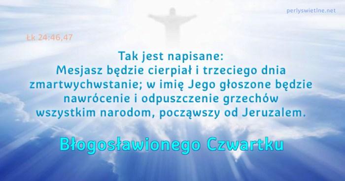 Tak jest napisane: Mesjasz będzie cierpiał …