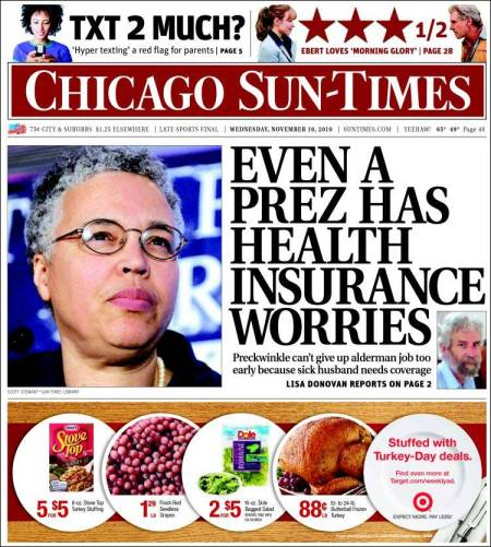 PERM Advertising Chicago Sun-Times