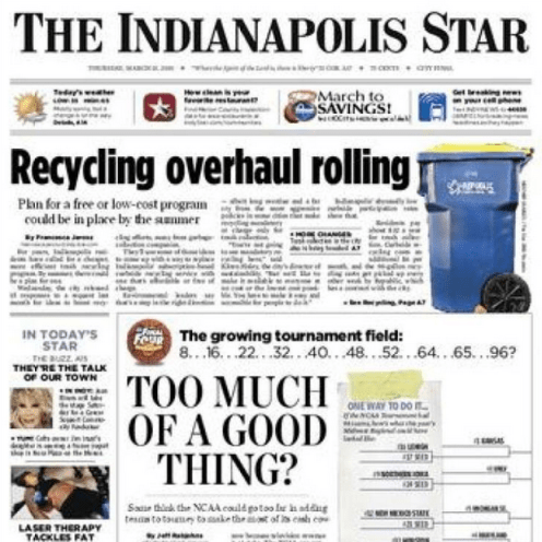 PERM Advertising The Indianapolis Star