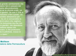 Permacultura Bill Mollison movimeento globale