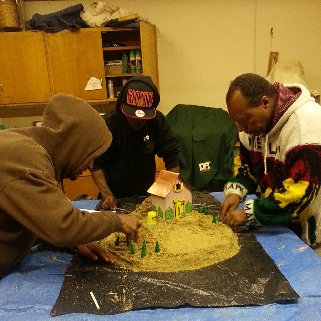 Neri americani ex detenuti permacultura