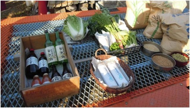 Alcuni possibili prodotti di una CSA/Teikei. Fonte: http://blog.kurose-shop.com/?eid=597