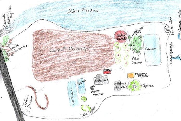 mappa bambini permacultura romania